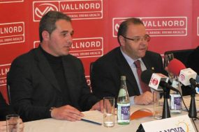 Press conference - Dianova and the Vallnord Foundation
