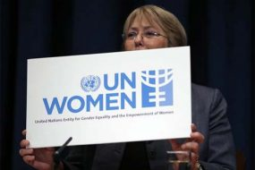 Ms. Bachelet, UN Women Executive Director