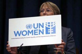 Ms. Bachelet, UN Women Executive Director