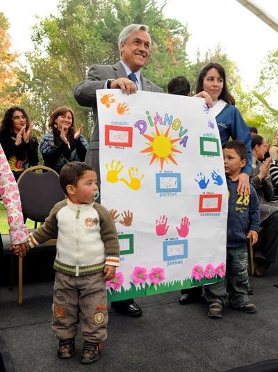 Sebastian Piñera, President of Chile