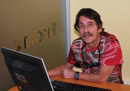 At Dianova International's office