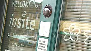 Insite's supervised injection site in Vancouver