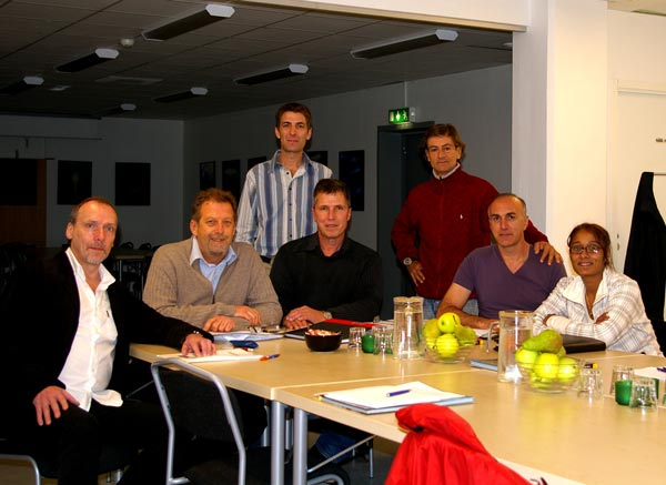 Our board of Directors in Sweden, and other Dianova executives