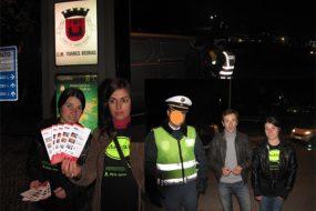 Prévention drogues et alcool dans les rues de Torres Vedras