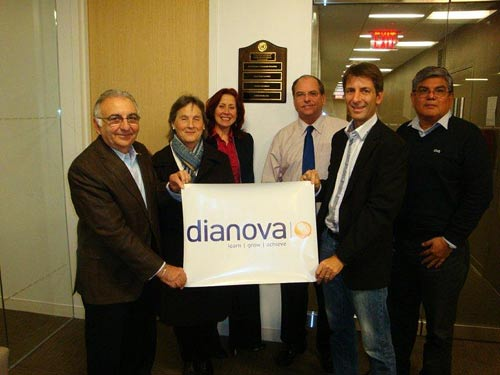 Dianova holds a meeting in the UN