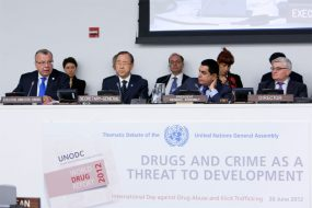 """Drugs and Crime as a Threat to Development"""