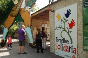 First Solidarity Day at Catalunya en Miniatura Theme Park