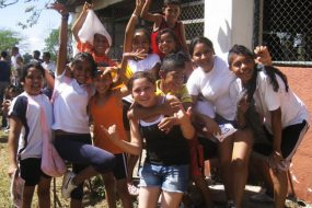 Children at the Esther del Rio Las Marias Educational Center