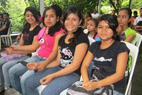 Adolescents in Dianova's Esther del Rio school, in Nicaragua