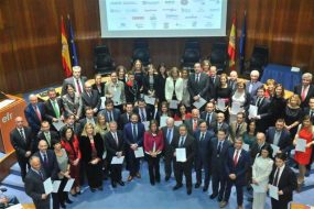 Official EFR certification ceremony in Madrid