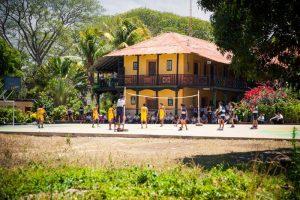 Vue de l'école Esther del Rio-Las Marias (Nicaragua)