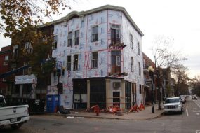 Major repairs at Dianova's Adam rooming house, in Montreal (Canada)