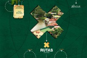 """Screenshot of """"Rutas Escondidas"""" web site"""