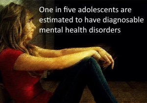 One in five adolescents