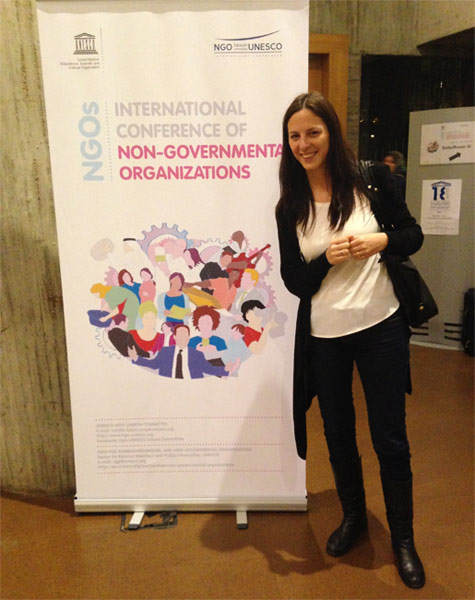 International conference of NGOs at UNESCO