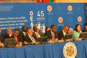 45ème assemblée générale de l'OEA