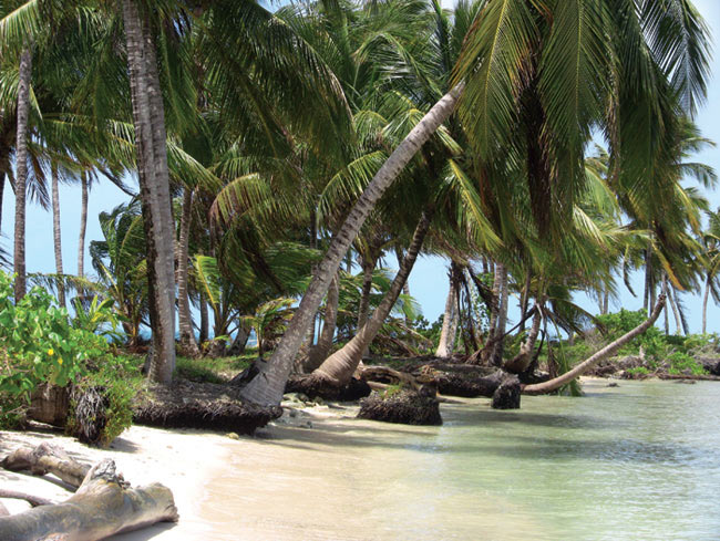 A view of Nicaragua's caribbean coast