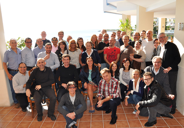 Participants in the Dianova Network's yearly meeting