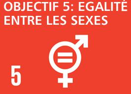 Objectif 5: Égalité de genre