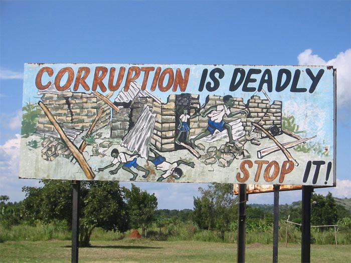 La corruption est mortelle