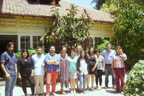 The team of Dianova Chile