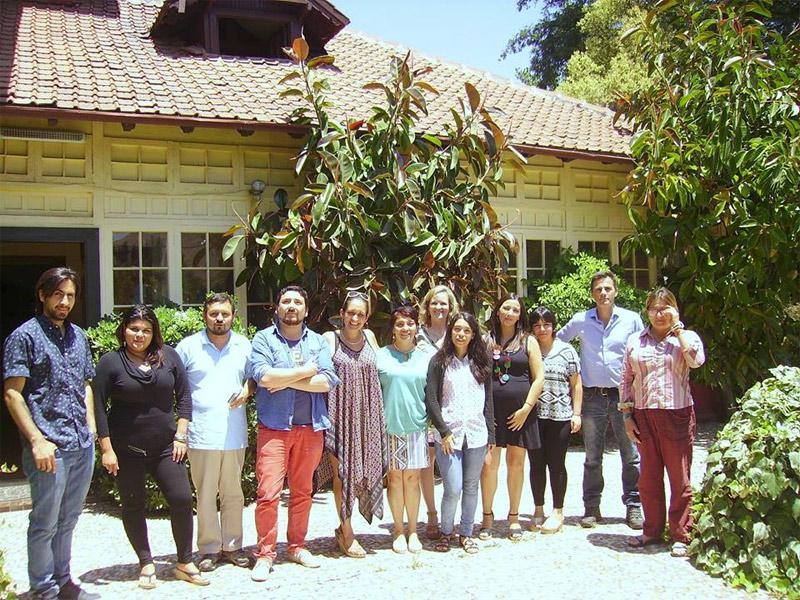 El equipo de Dianova Chile
