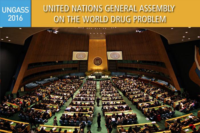 Session spéciale de l'assemblée générale des Nations Unies sur le problème mondial des drogues