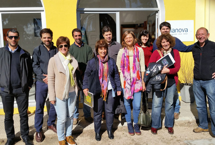 Visit at Dianova Chanaes centre in Uruguay