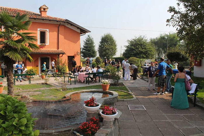 Open house day at the centre of Cozzo
