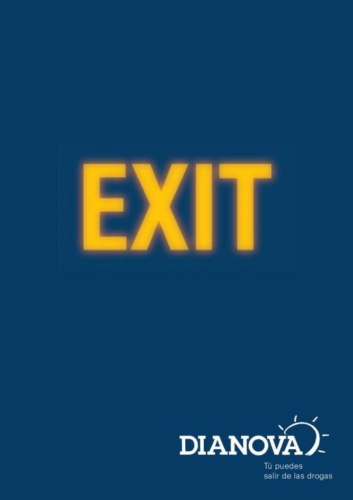 Campaña Exit salida de las drogas Dianova