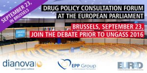 Drug Policy Consultatio Forum in Brussels