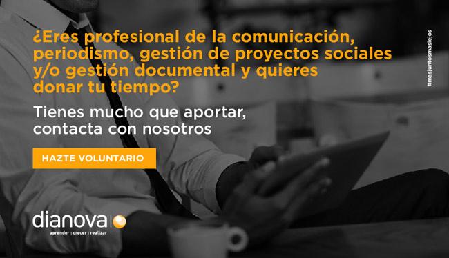 Voluntariado - comunicación, periodismo, proyectos sociales
