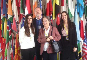 Dianova representatives during CND session
