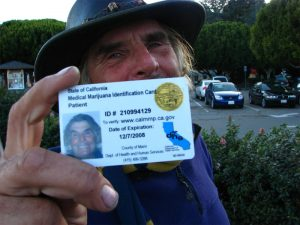 Marijuana State-issued card