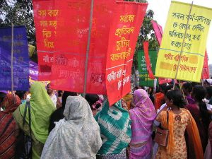 March in Dhaka (Bangladesh)