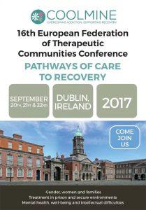 16ª Conferencia de la Federación Europea de Comunidades Terapéuticas