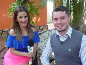 Manuel Bravo, directeur de l'hôtel Europeo lors d'une interview avec TVRed 11