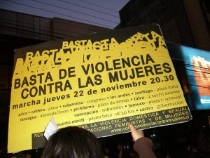 March against Femicide in Chile