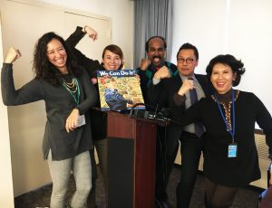 Dianova and partners at the CSW61