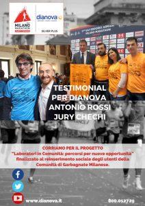 Poster Dianova Maratón de Milano
