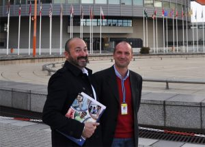 Antonio J. Molina and Rui Martins (Communications Manager, Dianova Portugal)