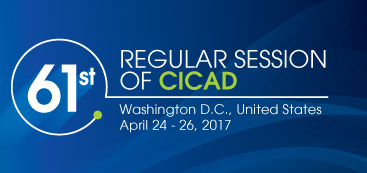 61st session of CICAD logo