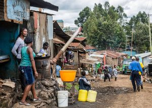 Matrix Hotel: slum-based economic activity in Kibera