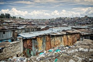 A view of the Mathare Valley slum