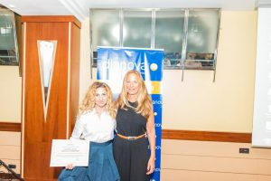 Ramona Tole and Cristina Lizarza (President of Dianova)