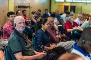 Réunion plénière lors des rencontres de Dianova 2017