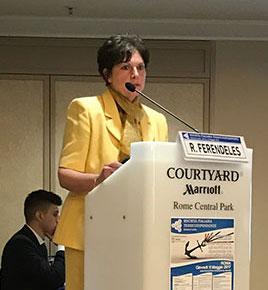 Rita Ferendeles - clinical supervisor, Palombara TC (Dianova Italy)