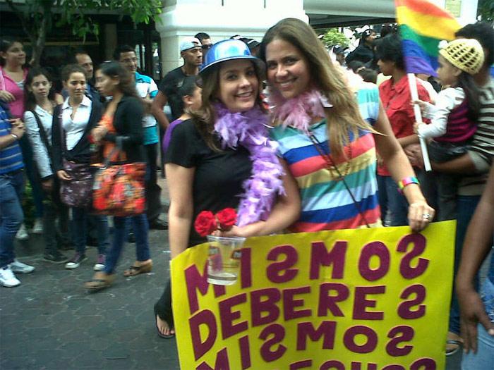 Marcha del orgullo LGBTI en Guayaquil (Ecuador)