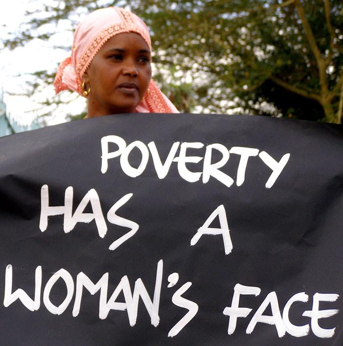 La pobreza tiene rostro de mujer