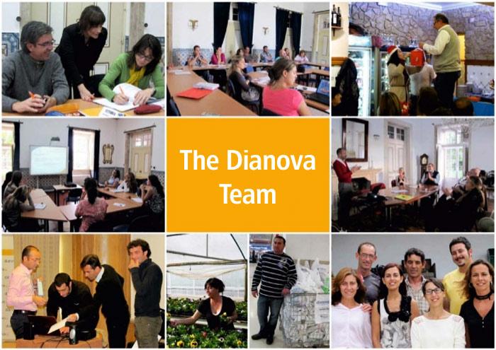El equipo de profesionales de Dianova Portugal